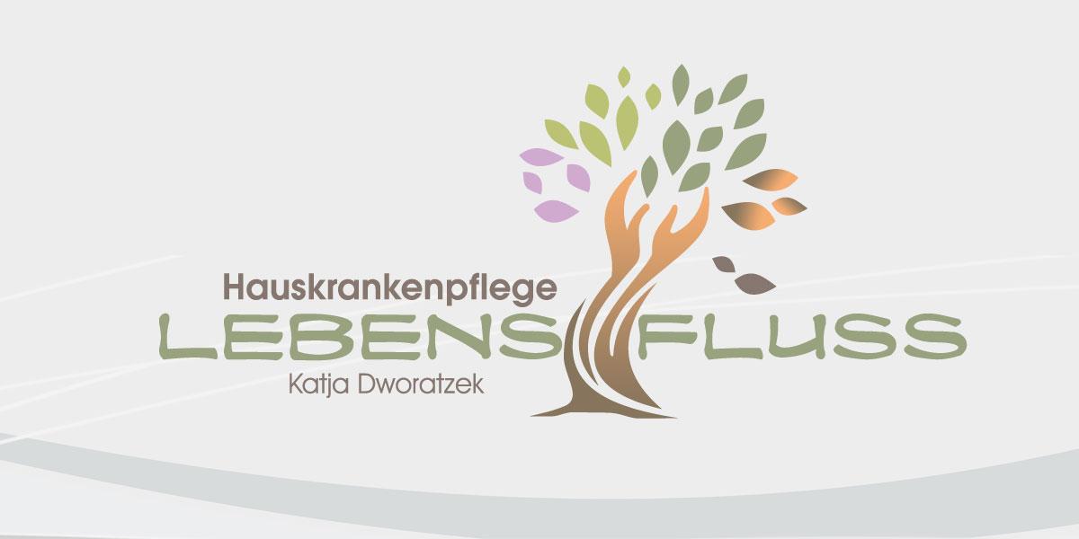 Logo Hauskrankenpflege Lebensfluss